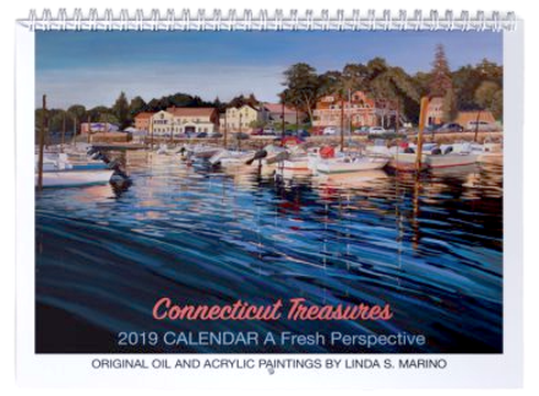 2019-calendar-Connecticut-Paintings-Linda-Marino